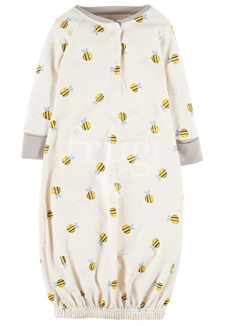 Buzzy Bee Baby Gown