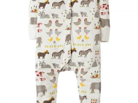 Babygrow Soft White Hay Days