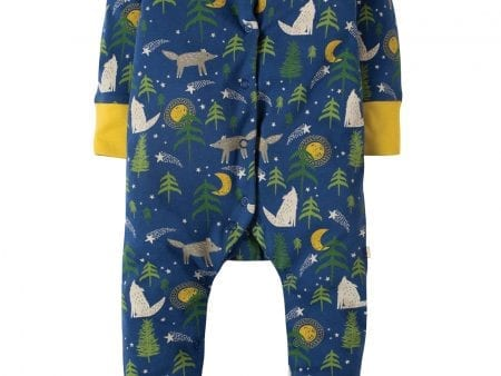 Frugi Babygrow Moonlit Night