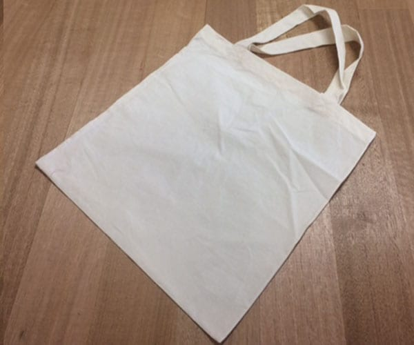Organic Cotton Calico Carry Bag – natural