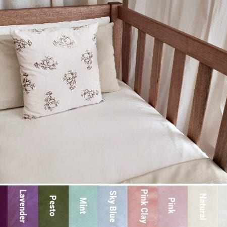 Certified-Organic-Cotton-Poplin-Baby-Cot-Bedding-COLOURS