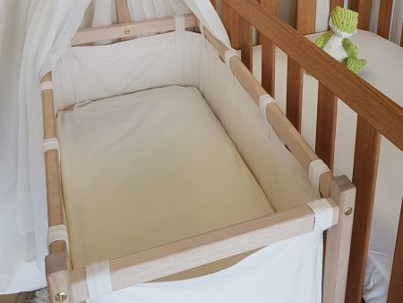 SALE Fitted Cradle and Bassinet Sheets – Cosy Organic Flannel