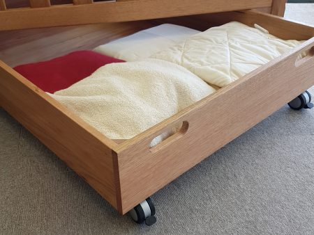 Storage Drawer for Under Bed / Cot – AUSTRALIAN MADE 100% Organic
