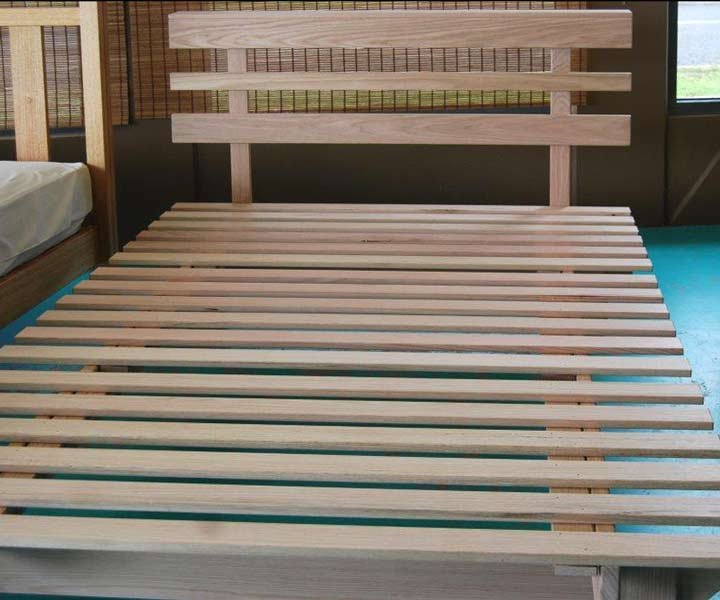 Hardwood Bed Base – Esperance high rise