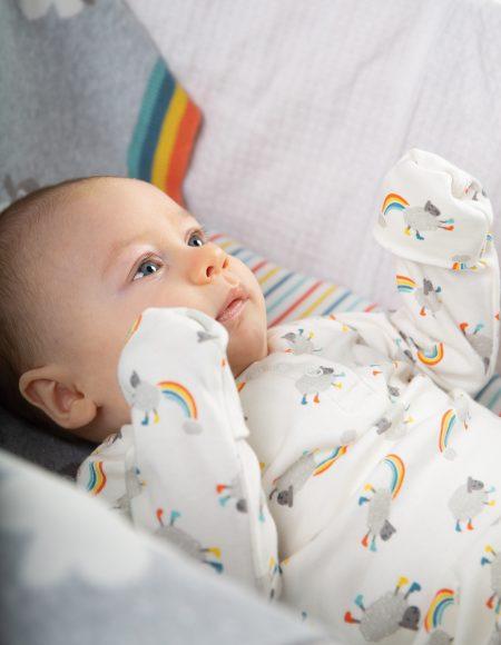 Sleepy Baby Gown – Little Lambs