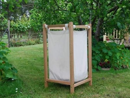 Hardwood Laundry Hamper – AUSTRALIAN MADE 100% Organic