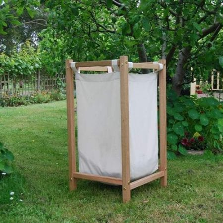 Hardwood-laundry-hamper-with-organic-bag-insert