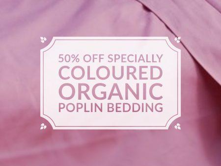 Berry Organic Poplin Bedding – NOW HALF PRICE