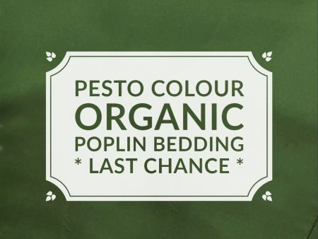 PESTO Organic Cotton Poplin Bedding – sheets, quilt covers, pillowcases