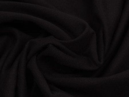Organic Jersey Black and Grey Marle