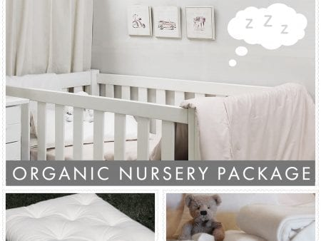 Organic Nursery Package Deal – Futon Mattress with blanket