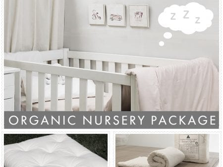 Organic Nursery Package Deal – Futon Mattress with quilt