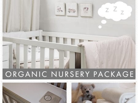 Organic Nursery Package Deal – Innerspring with blanket