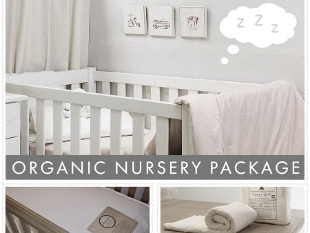Organic Nursery Package Deal – Innerspring with quilt