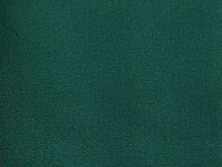 End of Roll GOTS Certified Organic Heavy Duty Canvas Fabric – Forest Green – 4 Metres