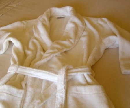 Bathrobe Organic Cotton Natural