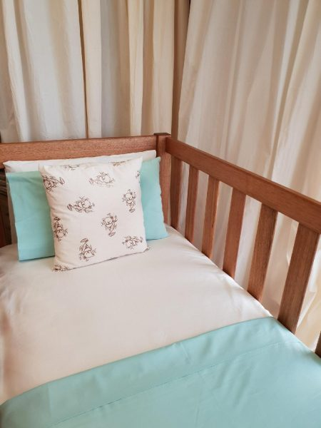 Discounted Mint Cot Flat Sheet