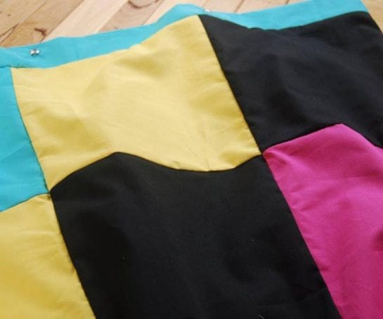 Patches-Organic Cotton Quilt-Cover Licorice-allsorts