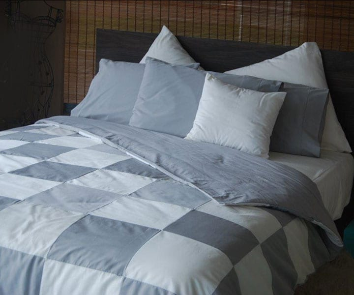Patch Quilt Covers – various colours