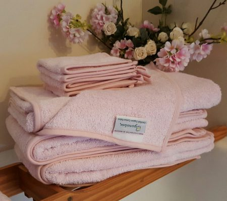 Organature Organic Cotton Coloured Large Bath Towels