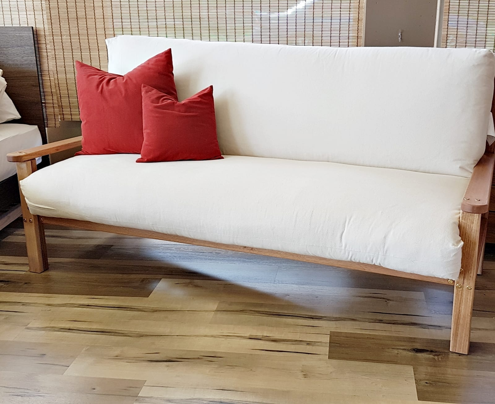 Sofa Double Bed With Sprung Futon