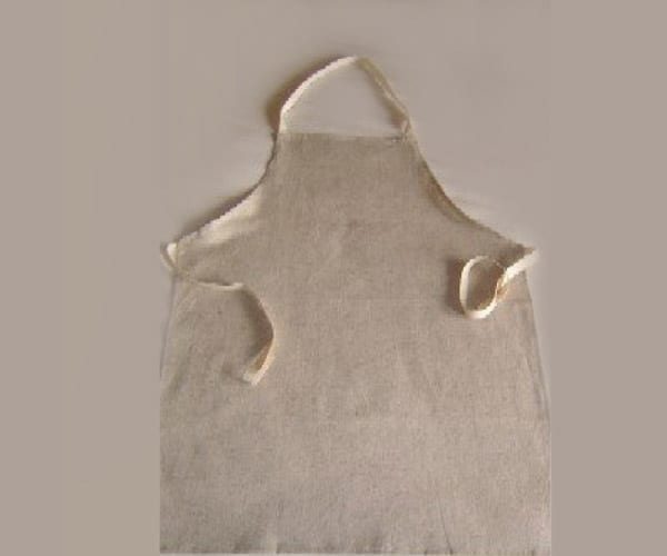 Apron – Certified Organic Cotton Suede Flannel – one size
