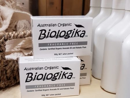 AUSTRALIAN ORGANIC VEGETABLE SOAP – Fragrance Free Bar – 100g