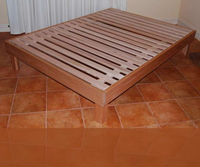 Hardwood Bed Base – Barossa