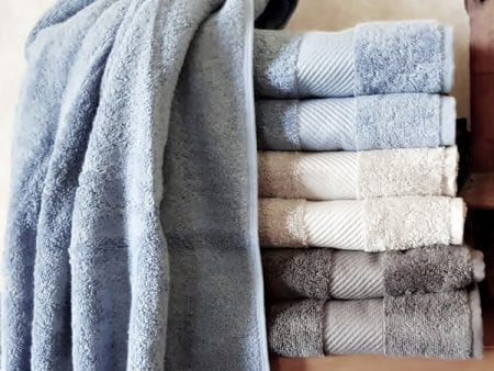 Organic Cotton Bath Towels – Coloured
