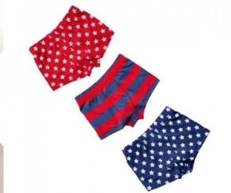 Boys Star Trunks – 3 pack