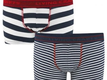 Boys Underpants – Organic Cotton Jersey – Boxer Style – 2 pack