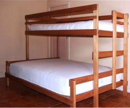 Bunk Beds – Double with optional mattress/futon bundle