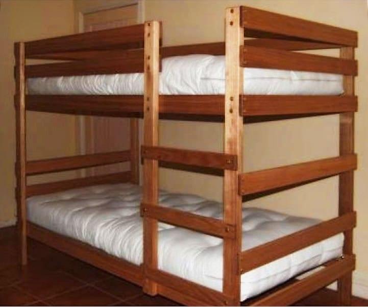 Bunk Beds – Single with optional mattress/futon bundle