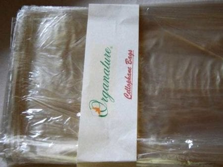 Cellophane Bags – Best Alternative To Plastic – 2 sizes