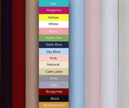 End of Roll Poplin – Various Colours