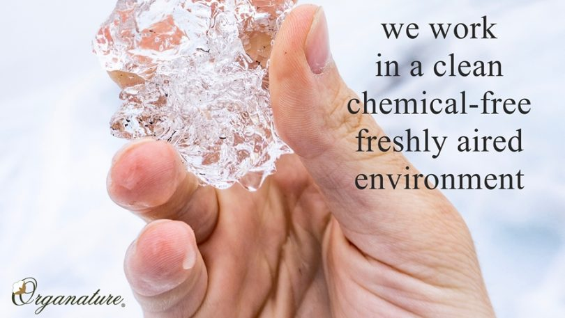 We Work In A Chemical-FREE Environment – NO SMOKING ALLOWED