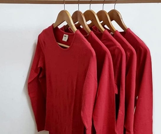 discounted-womens-stretch-long-sleeve-shirt-organic-cotton-extra-large-red