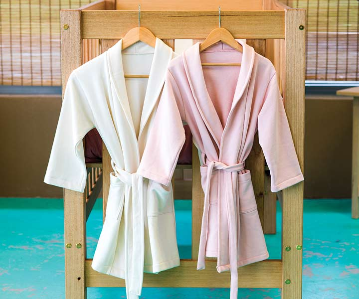 Fleece Dressing Gowns – Organic Cotton – various colours