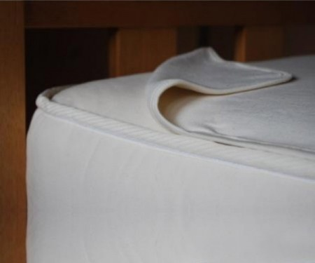Organic Cotton Fleece Mattress Overlay
