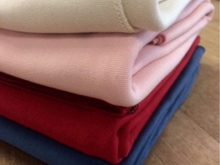 GOTS Certified Organic Cotton Interlock Fabric – pink only