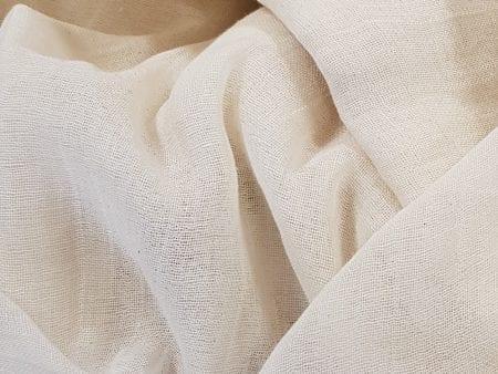 GOTS Certified Organic Muslin Fabric – natural