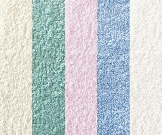 gots-certified-organic-terry-towelling-fabric-natural-mint-pink-blue-white