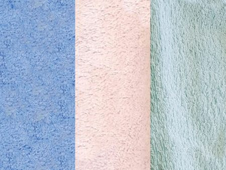 GOTS Certified Organic Terry Towelling Fabric – various colours