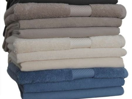 Organic Cotton Hand Towels Coloured