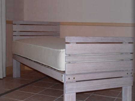 Hardwood Bed Base – Kingston