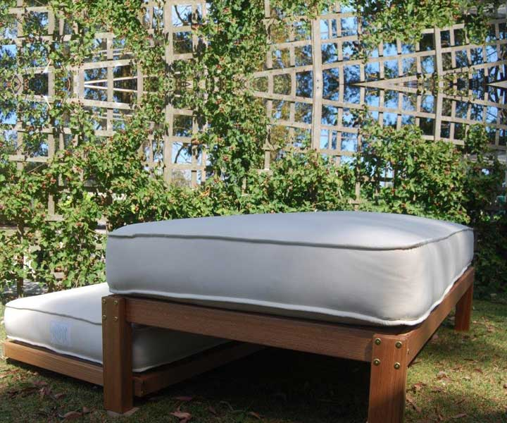 Hardwood Bed Base – Daintree – AUSTRALIAN MADE 100% Organic