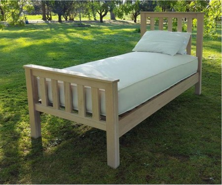 Hardwood Bed Base – Elliston