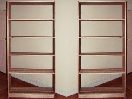 Hardwood Timber Shelving Unit – AUSTRALIAN MADE 100% Organic