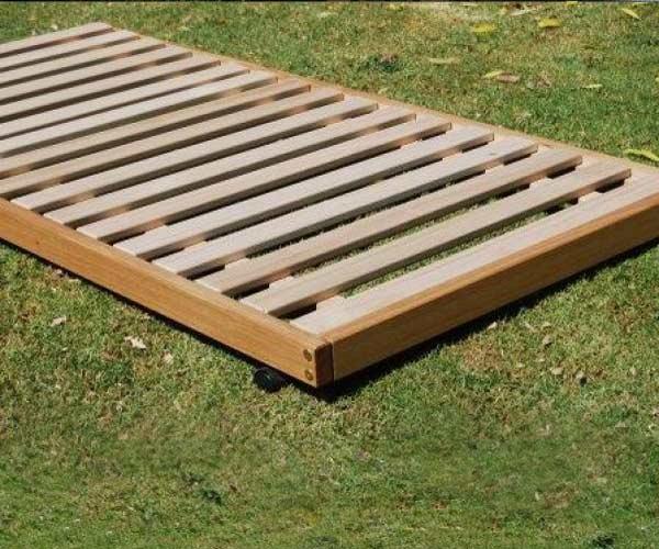 Hardwood Trundle platform style – Montrose