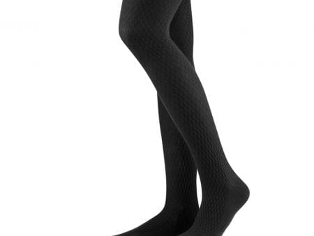 Ladies Organic Opaque Tights – black